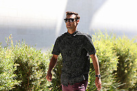 San Jose, CA - Saturday July 29, 2017: Chris Wondolowski prior to a Major League Soccer (MLS) match between the San Jose Earthquakes and Colorado Rapids at Avaya Stadium.