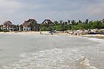 Beach at Pasikudah Bay, Eastern Province, Sri Lanka, Asia