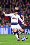 UEFA Champions League 2018/2019 - Matchday 6.<br /> FC Barcelona vs Tottenham Hotspur FC: 1-1.<br /> Ivan Rakitic vs Son Heung-Min.