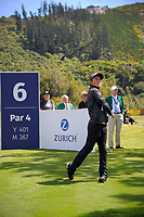 Sean Maruyama (Japan) tees off at the 6th on day one of the 2017 Asia-Pacific Amateur Championship day one at Royal Wellington Golf Club in Wellington, New Zealand on Thursday, 26 October 2017. Photo: Dave Lintott / lintottphoto.co.nz