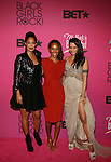 "Mara Brock Akil, Tracee Ellis Ross and Persia White Attend ""BLACK GIRLS ROCK!"" Honoring legendary singer Patti Labelle (Living Legend Award), hip-hop pioneer Queen Latifah (Rock Star Award), esteemed writer and producer Mara Brock Akil (Shot Caller Award), tennis icon and entrepreneur Venus Williams (Star Power Award celebrated by Chevy), community organizer Ameena Matthews (Community Activist Award), ground-breaking ballet dancer Misty Copeland (Young, Gifted & Black Award), and children's rights activist Marian Wright Edelman (Social Humanitarian Award) Hosted By Tracee Ellis Ross and Regina King Held at NJ PAC, NJ"