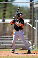 Miami Marlins Austen Smith (86) during a minor league spring training game against the New York Mets on March 30, 2015 at the Roger Dean Complex in Jupiter, Florida.  (Mike Janes/Four Seam Images)