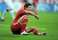 FUSSBALL   CHAMPIONS LEAGUE   SAISON 2011/2012   ACHTELFINALE RUECKSPIEL     13.03.2012 FC Bayern Muenchen - FC Basel        Mario Gomez (FC Bayern Muenchen)