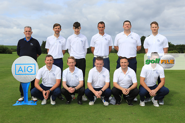 The Athenry Team for the Final of the AIG Jimmy Bruen Shield in the AIG Cups & Shields Connacht Finals 2019 in Westport Golf Club, Westport, Co. Mayo on Sunday 11th August 2019.<br /> <br /> Picture:  Thos Caffrey / www.golffile.ie<br /> <br /> All photos usage must carry mandatory copyright credit (© Golffile   Thos Caffrey)