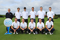 The Athenry Team for the Final of the AIG Jimmy Bruen Shield in the AIG Cups & Shields Connacht Finals 2019 in Westport Golf Club, Westport, Co. Mayo on Sunday 11th August 2019.<br /> <br /> Picture:  Thos Caffrey / www.golffile.ie<br /> <br /> All photos usage must carry mandatory copyright credit (© Golffile | Thos Caffrey)