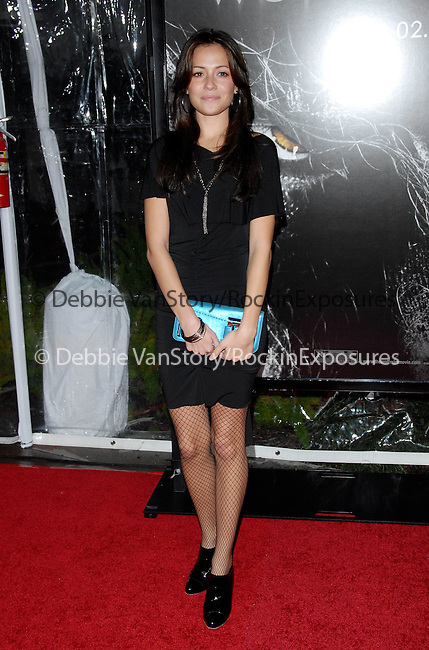 Italia Ricci at the Universal Pictures L.A. Premiere of The Wolfman held at The Arclight Theatre in Hollywood, California on February 09,2010                                                                   Copyright 2009  DVS / RockinExposures
