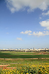 Israel, a view of Tel Aviv from Hiriya Recycling Park