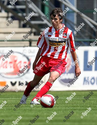 2009-07-19 / voetbal / seizoen 2009-2010 / Hoogstraten VV / VAN HUFFEL Nick..Foto: Maarten Straetemans (SMB)