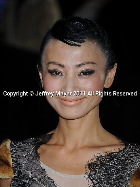 """HOLLYWOOD, CA - NOVEMBER 04: Bai Ling attends the AFI Fest 2011 Special Screening Of """"The Lady"""" held at the Grauman's Chinese Theatre on November 4, 2011 in Hollywood, California."""