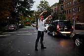 New York, New York<br /> September 16, 2010<br /> <br /> Park Slope after a severe storm and possible tornado. Directing traffic on 8th Avenue through the downed trees.