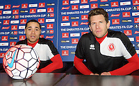 Welling United FA Cup 2nd Round Press Conference - 04.12.2015