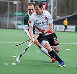 AMSTELVEEN -  Fergus Kavanagh (Adam)   tijdens de hoofdklasse competitiewedstrijd heren, AMSTERDAM-ROTTERDAM (2-2). COPYRIGHT KOEN SUYK