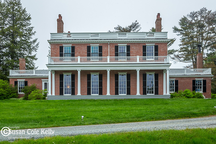 The Black House at the Woodlawn Museum & Gardens in Ellsworth, Maine, USA
