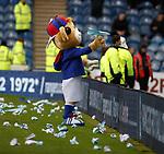 24.11.2018 Rangers v Livingston: Boris Bear