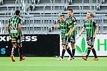 Stockholm 2014-06-18 Fotboll Superettan Hammarby IF - GAIS :  <br /> GAIS Joel Johansson jublar efter sitt 1-3 m&aring;l<br /> (Foto: Kenta J&ouml;nsson) Nyckelord:  Superettan Tele2 Arena Hammarby HIF Bajen GAIS jubel gl&auml;dje lycka glad happy