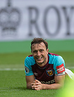 Mark Noble of West Ham United during the EPL - Premier League match between West Ham United and Southampton at the Olympic Park, London, England on 31 March 2018. Photo by Andy Rowland.