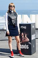 Natalia Molina attent the Photocall of 'Adios' during the 67th San Sebastian Donostia International Film Festival - Zinemaldia.September 26,2019.(ALTERPHOTOS/Yurena Paniagua)<br /> Photo Alterphotos / Insidefoto <br /> ITALY ONLY