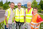 Pictures at the Muckross Community Association clean up on Wednesday were Donal O'Sullivan, Jerry O'Grady, Frank Lewis and Donal O'Sullivan...