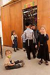 Israel, Bnei Brak, Succot at the Premishlan congregation, 2005<br />