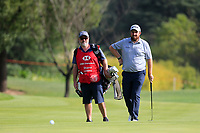 Caddy Brian Martin and Shane Lowry (IRL) during the pro-am at the WGC HSBC Champions, Sheshan Golf Club, Shanghai, China. 30/10/2019.<br /> Picture Fran Caffrey / Golffile.ie<br /> <br /> All photo usage must carry mandatory copyright credit (© Golffile | Fran Caffrey)