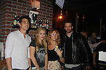 Lenny Platt - Bree Williamson - BethAnn Bonner - Nathaniel Marston - Stars of Daytime and Prime Time Television and Broadway bartend to benefit Stockings with Care 2011 Holiday Drive  - Celebrity Bartending Event with Silent Auction & Raffle on November 16, 2011 at the Hudson Station Bar & Grill, New York City, New York. For more information - www.stockingswithcare.org.  (Photo by Sue Coflin/Max Photos)