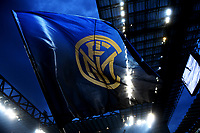 Bandiera Inter. Inter Flag <br /> Milano 28-04-2018 Stadio Giuseppe Meazza in San Siro Football Calcio Serie A 2017/2018 Inter - Juventus Foto Andrea Staccioli / Insidefoto