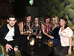 Adam O'Connor, Niamh Goring, Aimee Traynor, Tracy King, Kelsey Dawson and Jenny Prior enjoying the New year weekend in Bitter & Twisted. Photo:Colin Bell/pressphotos.ie