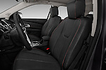 Front seat view of 2017 GMC Terrain SLT 5 Door SUV Front Seat  car photos