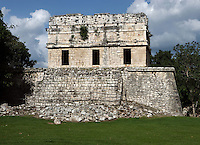 The Red House or Chichanchoob, circa 900 AD, Puuc architecture, Chichen Itza, Yucatan, Mexico. Picture by Manuel Cohen