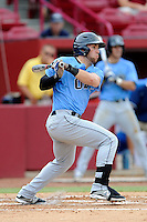 Shortstop Tyler Urps (2) of the Old Dominion Monarchs in an NCAA Division I Baseball Regional Tournament game against the Maryland Terrapins on Friday, May 30, 2014, at Carolina Stadium in Columbia, South Carolina. Maryland won, 4-3. (Tom Priddy/Four Seam Images)
