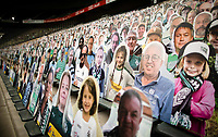 2020 Fans of Moenchengladbach place replica fans in stands May 20th