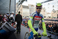 Peter Sagan (SVK/Tinkoff-Saxo) on the start podium<br /> <br /> 99th Ronde van Vlaanderen 2015