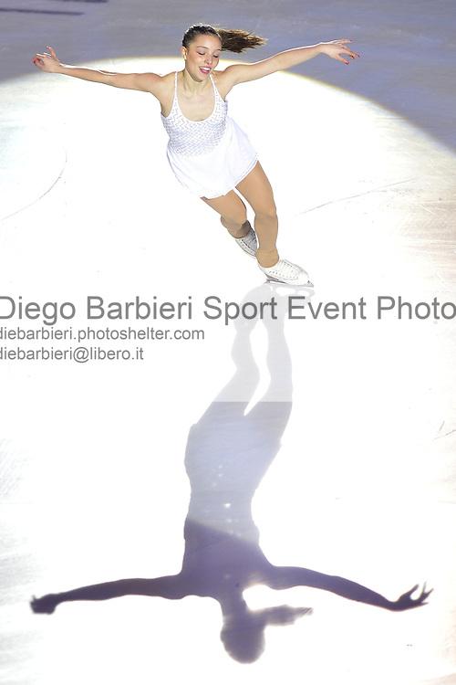 21 dicembre 2014 - TORINO - ITALIA: Si svolge il consueto Golden Skate Awards al Palavela di Torino, quest'anno come gala conclusivo dei Campionati Italiani di Pattinaggio di figura senior.<br /> <br /> 21th december 2014 - TURIN - ITALY: Golden Skate Awards is at Palavela as Italian Senior Figure Ice Skating Nationals .<br /> Giada Russo