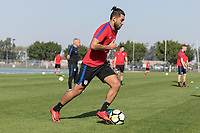 Carson, CA - January 11, 2018: The USMNT trains during their annual January camp in California.