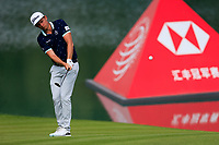 Cameron Smith (AUS) on the 2nd green during the 3rd round of the WGC HSBC Champions, Sheshan Golf Club, Shanghai, China. 02/11/2019.<br /> Picture Fran Caffrey / Golffile.ie<br /> <br /> All photo usage must carry mandatory copyright credit (© Golffile | Fran Caffrey)