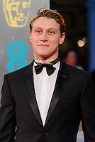 www.acepixs.com<br /> <br /> February 12 2017, London<br /> <br /> George MacKay arriving at the 70th EE British Academy Film Awards (BAFTA) at the Royal Albert Hall on February 12, 2017 in London, England<br /> <br /> By Line: Famous/ACE Pictures<br /> <br /> <br /> ACE Pictures Inc<br /> Tel: 6467670430<br /> Email: info@acepixs.com<br /> www.acepixs.com