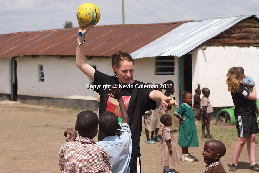 Stevenage FC Community Project, Nakuru, Kenya - 31st May, 2013<br />  © Kevin Coleman 2013