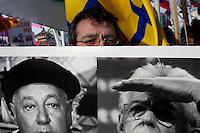 Milano: manifestazione della Lega Nord organizzata per protestare contro la manovra del governo Monti.