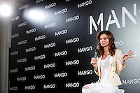Model Miranda Kerr is announced as the new Face of Mango at the Villamagna Hotel. December 11, 2012. (ALTERPHOTOS/Caro Marin) (/NortePhoto)