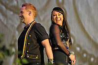 LONDON, ENGLAND - SEPTEMBER 9: Ian &quot;H&quot; Watkins and Lisa Scott-Lee of 'Steps' performing at BBC Proms in The Park, Hyde Park on September 9, 2017 in London, England.<br /> CAP/MAR<br /> &copy;MAR/Capital Pictures