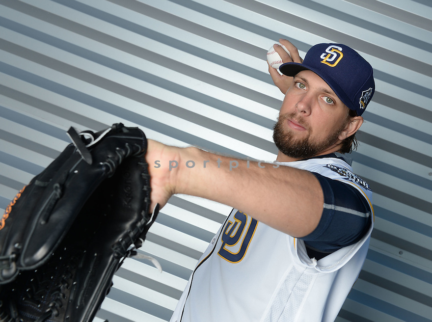 San Diego Padres Josh Martin (49) during photo day on February 26, 2016 in Peoria, AZ.