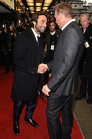 "Jordi Molla and Kevin Costner<br /> arrives for the ""Criminal"" premiere at the Curzon Mayfair Cinema, London<br /> <br /> <br /> ©Ash Knotek  D3104 07/04/2016"