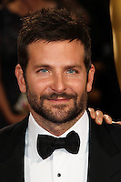 HOLLYWOOD, LOS ANGELES, CA, USA - MARCH 02: Bradley Cooper at the 86th Annual Academy Awards held at Dolby Theatre on March 2, 2014 in Hollywood, Los Angeles, California, United States. (Photo by Xavier Collin/Celebrity Monitor)