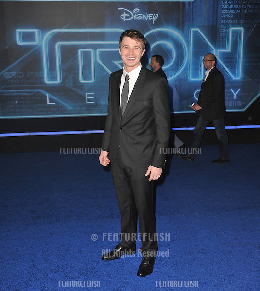 "Garrett Hedlund at the world premiere of his new movie ""Tron: Legacy"" at the El Capitan Theatre, Hollywood..December 11, 2010  Los Angeles, CA.Picture: Paul Smith / Featureflash"