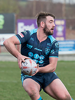 Picture by Allan McKenzie/SWpix.com - 25/03/2018 - Rugby League - Betfred Championship - Batley Bulldogs v Featherstone Rovers - Heritage Road, Batley, England - Featherstone's Martyn Ridyard.