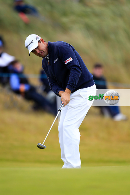 Padraig Harrington (IRL) during round 2 of the Aberdeen Asset Management Scottish Open 2016, Castle Stuart  Golf links, Inverness, Scotland. 08/07/2016.<br /> Picture Fran Caffrey / Golffile.ie<br /> <br /> All photo usage must carry mandatory copyright credit (&copy; Golffile | Fran Caffrey)