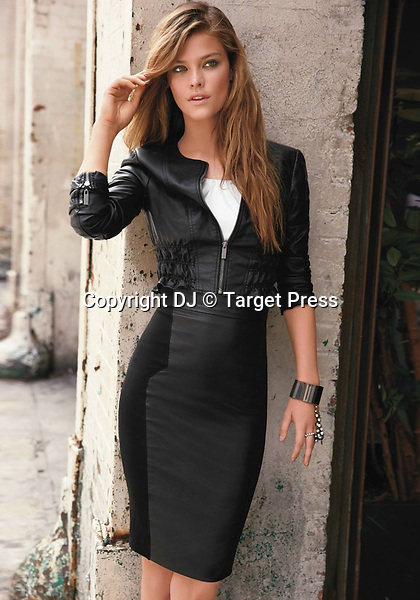 Danish model Nina Agdal poses in this photoshoot for Bebe fall collection 2013.<br /> <br /> &copy; DJ / Target Press - 12/09/2013 - *Hands Out Pics*