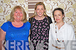 Marie Gleeson, Clare Shorten and Annemarie Teahan enjoying the Kerry Parents and Friends fashion show in the Malton hotel, Killarney on Tuesday night.