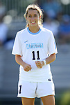 09 September 2012: UNC's Kelly McFarlane. The University of North Carolina Tar Heels defeated the University of San Diego Toreros 5-0 at Koskinen Stadium in Durham, North Carolina in a 2012 NCAA Division I Women's Soccer game.