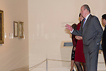 08.10.2012. Spanish Royals, Juan Carlos and Sofia, preside the ceremony commemorating the 20th anniversary of the Thyssen-Bornemisza Museum located in the Villahermosa Palace, in Madrid, Spain. In the image King Juan Carlos I of Spain (Alterphotos/Marta Gonzalez)